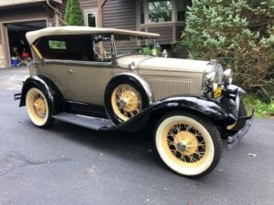 "1931 Ford Model ""A"" Deluxe 2-Door Phaeton  $49,900"