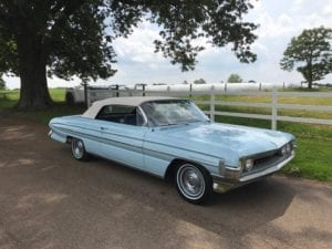 1961 Oldsmobile Dynamic 88 Convertible $29,900