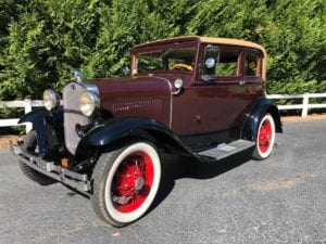 1931 Ford Model A Victoria – REDUCED $24,900