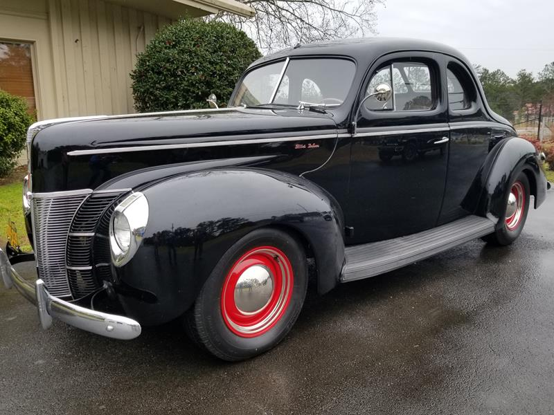 #340 – 1940 Ford Deluxe Opera Coupe