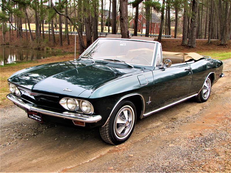 #361-1965 Chevrolet Corvair Monza Convertible