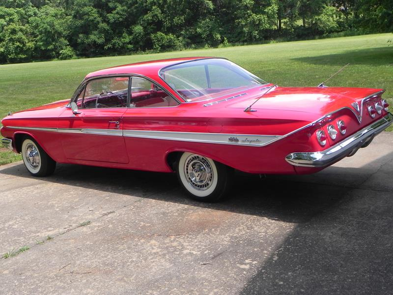 "#309 – 1961 Impala SS-409 ""Bubble Top"" Sport Coupe"