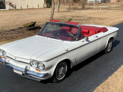 1964 Chevrolet Corvair Monza Convertible  $17,900
