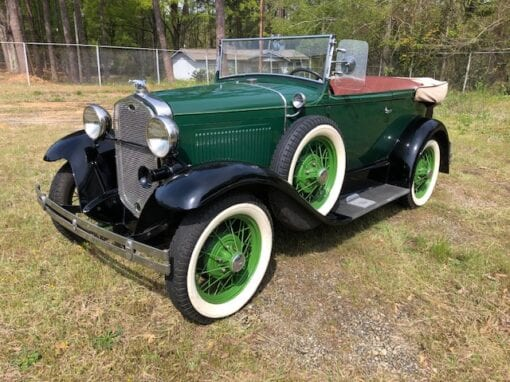1931 Ford DeLuxe 2-Door Phaeton  $26,900