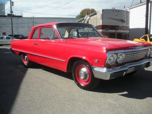 ​1963 Chevrolet Bel Air 2-Door Sedan  $39,900