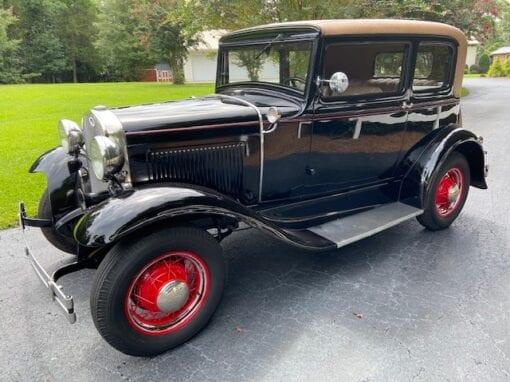 """1931 Ford Model """"A"""" Victoria  $15,900"""