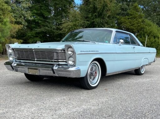 "1965 Ford Galaxie 500 XL ""Fastback"" Coupe  $29,900"