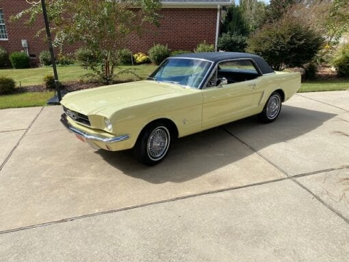 1965 Ford Mustang Coupe-  $16,900