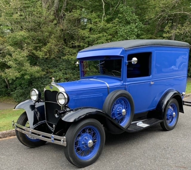 "130-1930 Ford Model ""A"" Panel Delivery"