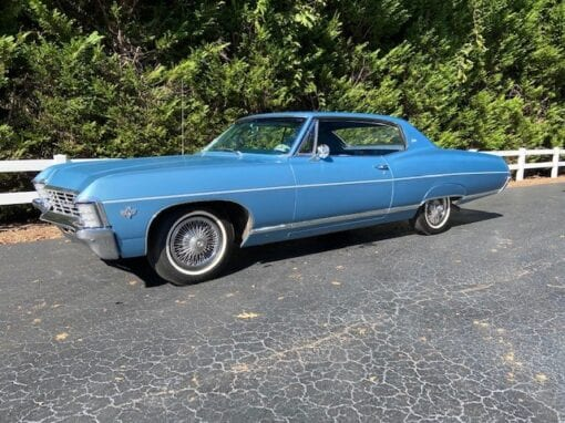 1967 Chevrolet Caprice Coupe  $16,900