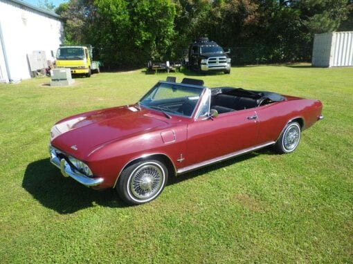 1965 Chevrolet Corvair Monza Convertible  $12,900