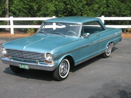 1963 Chevrolet Chevy II Nova SS  $32,900