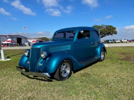 1936 Ford Tudor (2-Door) Sedan Rest-O-Rod  $34,900
