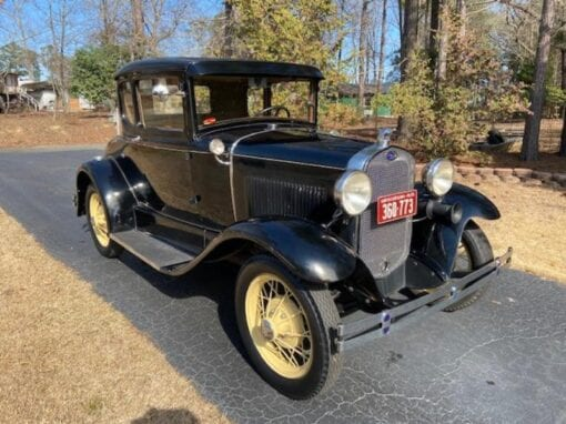 "1930 Ford Model ""A"" DeLuxe Rumble Seat Coupe-"