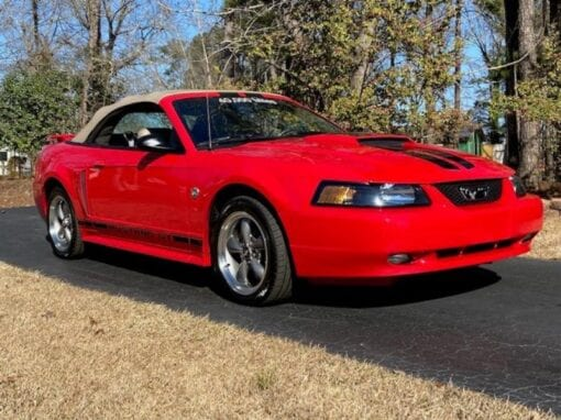 2004 Ford Mustang GT 40th Anniversary Convertible  $16,900