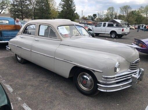 1950 Packard Deluxe 8 Sedan  $18,900