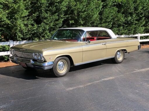 1962 Chevrolet Impala Sport Coupe-  $55,000