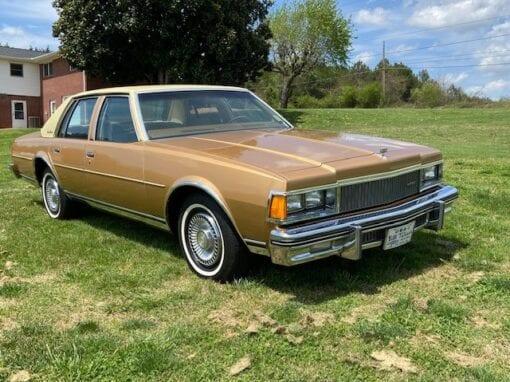 1977 Chevrolet Caprice Sport Sedan  $14,900
