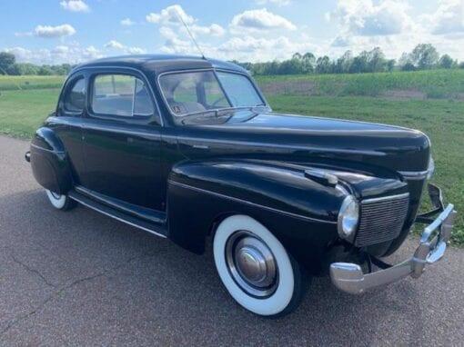 1941 Mercury 8 Club Coupe  $26,900