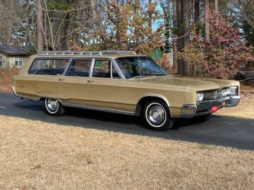 1967 Chrysler 6-passenger Town & Country Station Wagon  $16,900