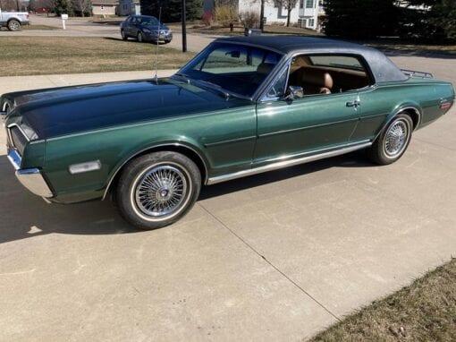1968 Mercury Cougar XR-7  $34,900
