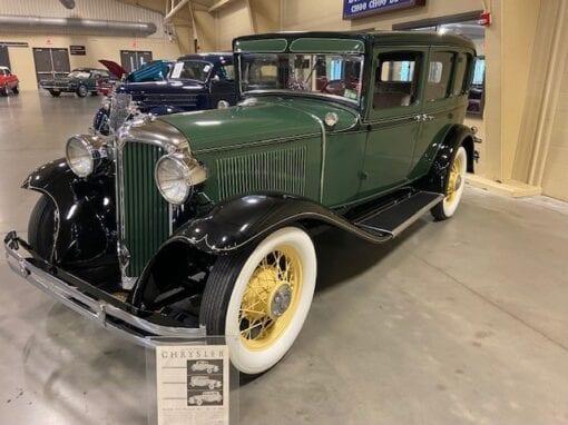 1931 Chrysler CM6 4-Door Sedan  $39,900